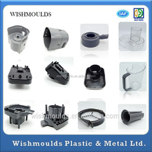 China plastic product manufacturing clear hard plastic molding factory