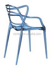 Transparent Beautiful Stackable Banquet Hotel Plastic Chair