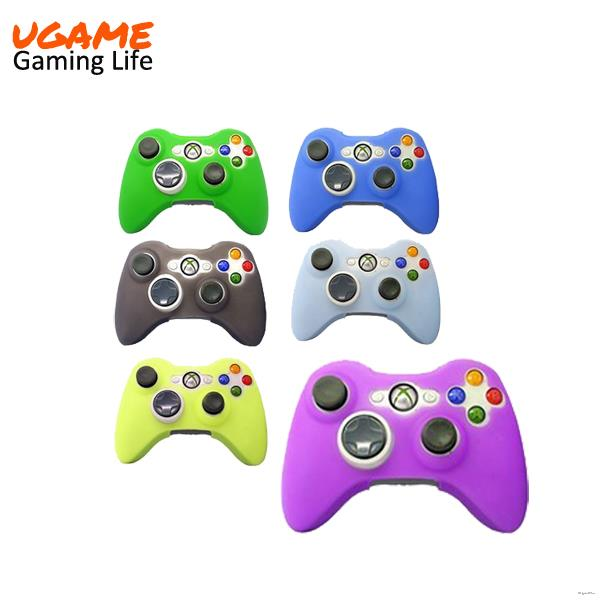 Wholesale protective Soft Silicone Case Fresh Green for xbox 360 controller