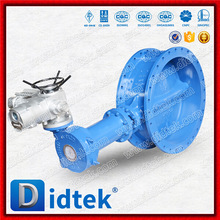 Didtek Triple Offset Flange Electric Butterfly Valve