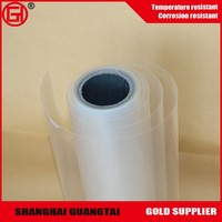 Multiple extrusion 25micron silicone coated PET release film