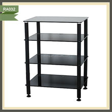 retro funky cheapest tempered glass tv stand