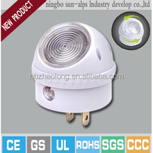 CE approved Rotatable sensor switch lights for children rotating night light