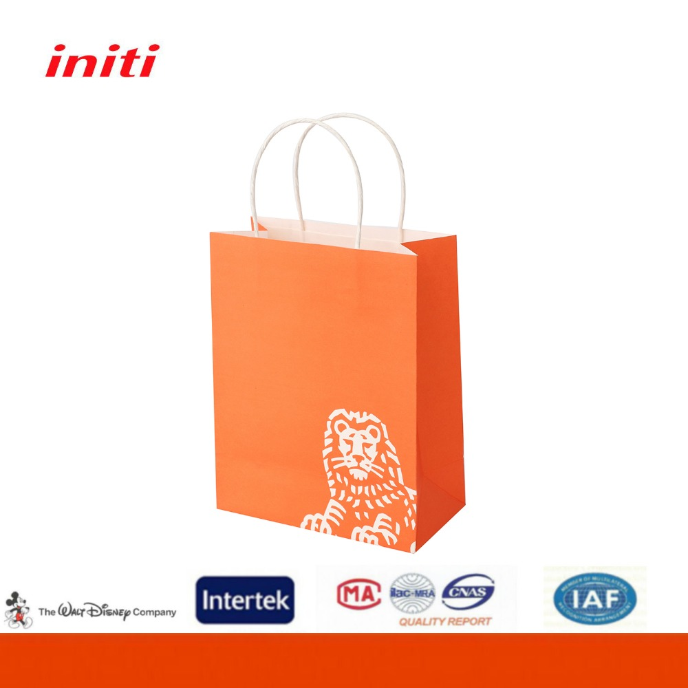 Alibaba China Supplier Sales Cheap Brown Kraft Paper Bag for Shopping
