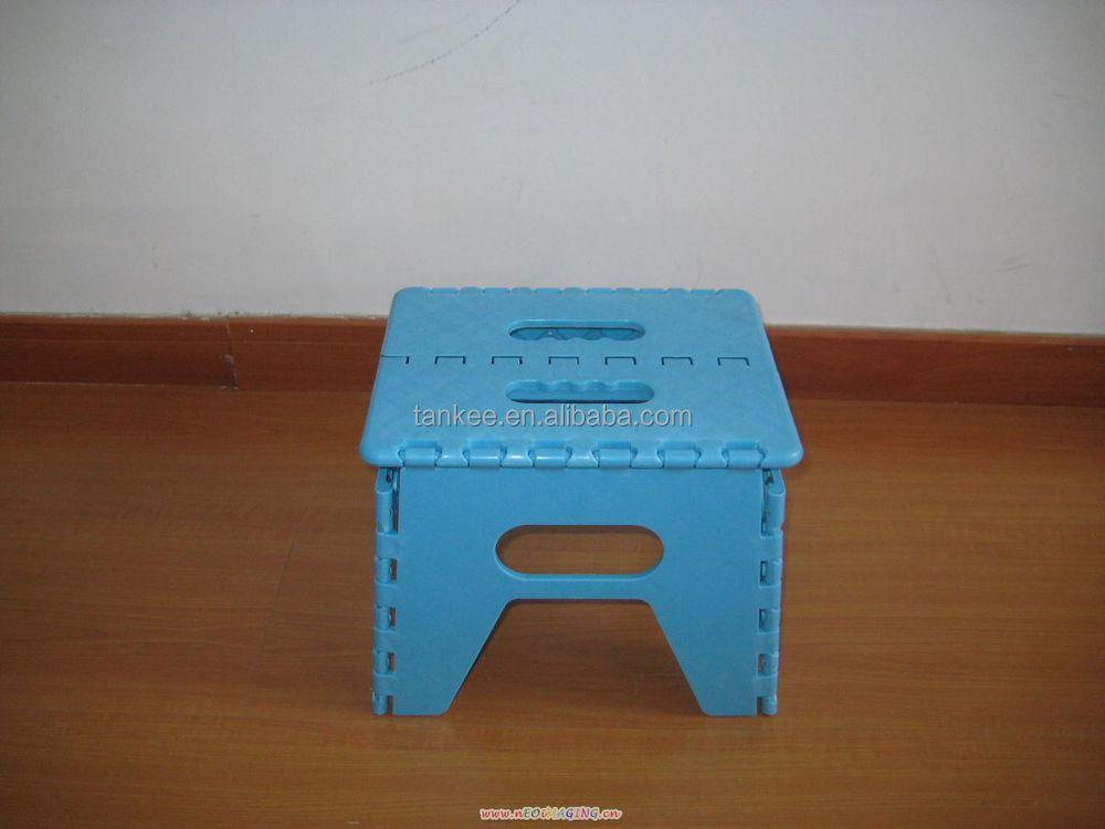 Children Mini Step Foot Stool Folding Easy Taking Plastic