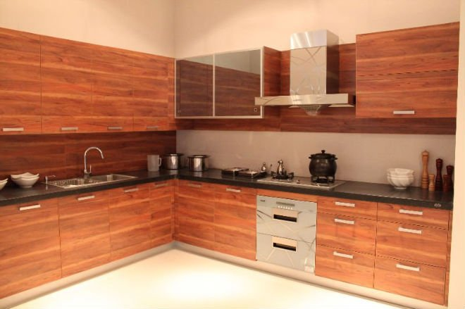 2014 modern modular kitchen cupboard door covers full set for Full kitchen cabinet set