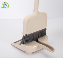 Boomjoy home cleaning multi-functional 4 in 1broom and dustpan set/4 different adjustable length broom