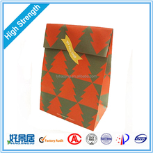 Customer Design Brown Packing Kraft Paper Bag for Gifts, Shopping and Food