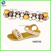 2015 summer fashion ornaments for sandal shoes