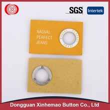 Factory wholesale metal garment label with good service