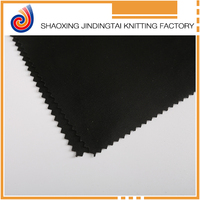 Textile fabrics black polyester fabric for Underwear and Sportswear