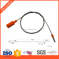 JC-CS305 ABS plastic wrapping pull tight fixed length cable seal lock