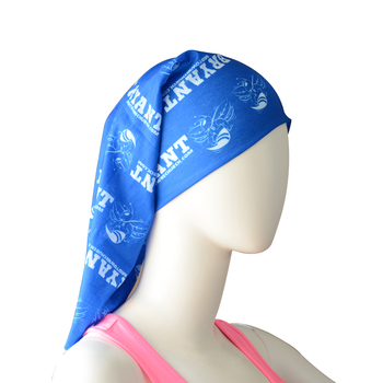 Multi function cooling custom tube bandana for cycling