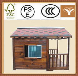 outdoor weatherproof wood dog house and windows and dogs kennel pet house