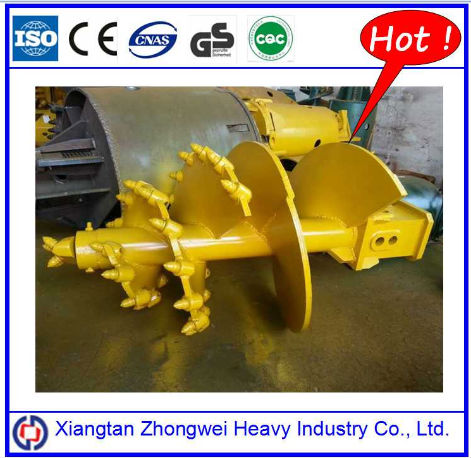 Construction Machine Excavator Auger Drilling,Earth drill for Digging Hole