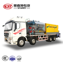 Chip sealer equipment 20cbm asphalt bitumen fiber chip seal truck