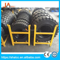 New strong latest solid tire forklift four wheel drive