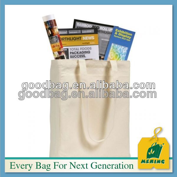 custom making cotton canvas stationery book carry bags