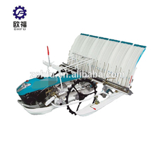 Top quality rice transplanter 6 row planting machine mechanism in pakistan