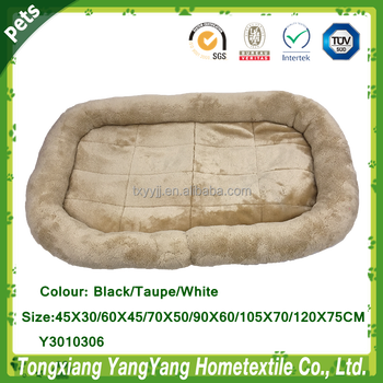 YANGYANG Pet Products Dog Bolster Bed, Cat Bolster Bed, Pet Bolster Mat