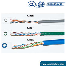 Perfect factory of cable utp cable cat5e + power cable RVV 2*0.5