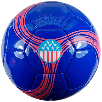 soccer, wholesale football soccer ball with cheap price blue yellow red color