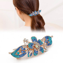 Factory direct sale large hair accessories spring hair clamp barrette