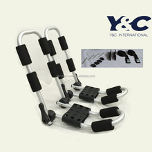Foldable car roof kayak rack / quick mounted kayak carrier for car