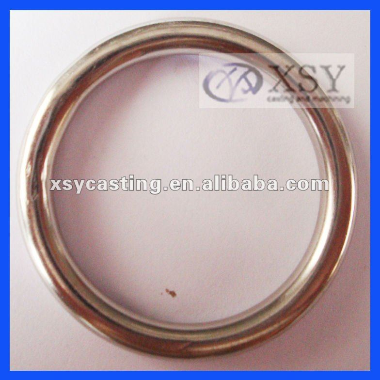 welded stainless steel ring/aluminium casting ring