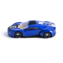 Interactive mini car toy racing game on mobile with free app