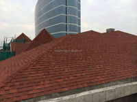 Modular House Roof Tiles Fiberglass Asphalt Roof Shingles China