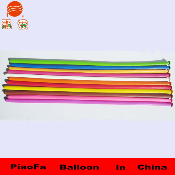 hot sale high quality long helium foil balloon