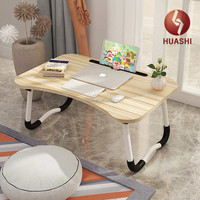 Lap Desk, Laptop Table Folding Laptop Desk Notebook Standing Reading Writing Bed Table Portable