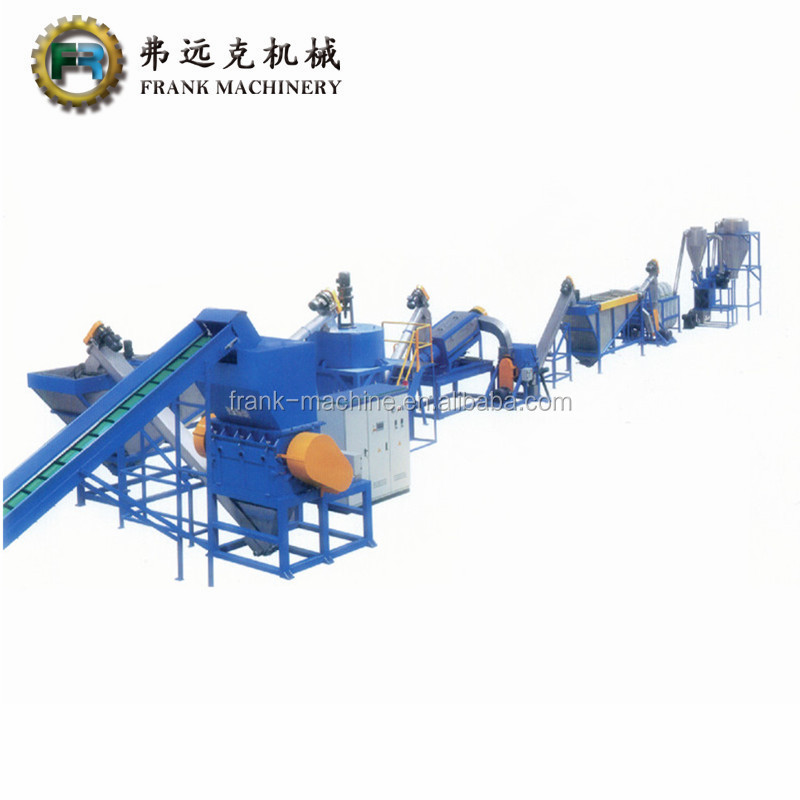 jiangsu.pet bottle plastic recycling machine. used plastic washing recycling line.with CE certificate
