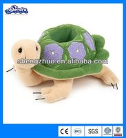light green stuffed plush turtle toy, kids toy, OEM welcomed