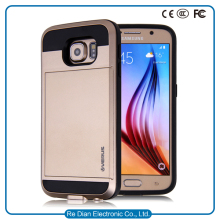 high quality TPU PC cell phone faceplates case for Samsung galaxy s7 edge