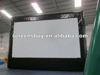 portable outdoor inflatable screen