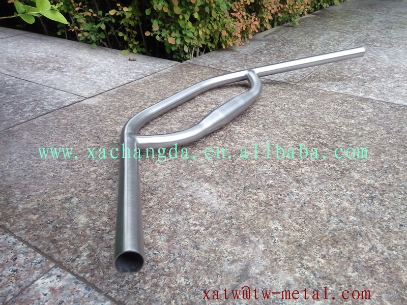 titanium Loop handle bar Ti Loop bicycle handle bar custom bike Loop handle bar