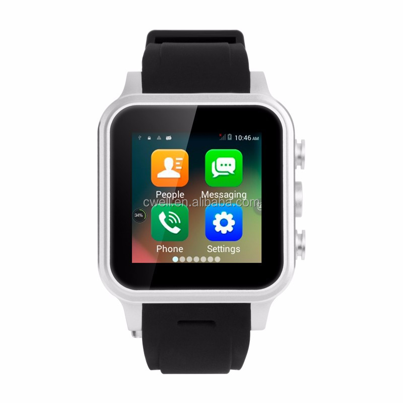Smart X308L 1.54 inch Displa MTK6572 Dual Core Single SIM 1GB RAM 8GB ROM 3G WCDMA GPS WIFI Smart Watch Android Dual SIM