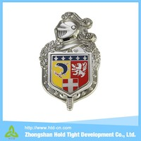Hot Sale car badges stickers and badge clip safety pin