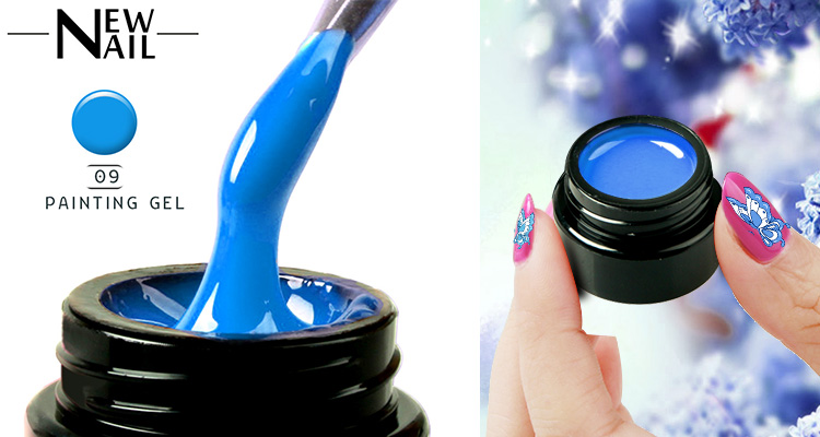 No brand name best nail gel uv 5ml uv gel in jar