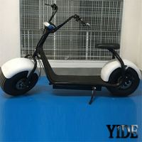 2016 popular 1000W 60V 12A lithium battery fat tire citycoco electric scooter