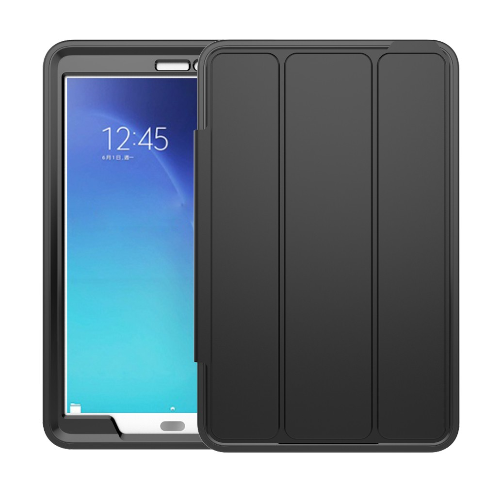 High Quality PU Smart Cover Case For Samsung Tab E T560 9.6''