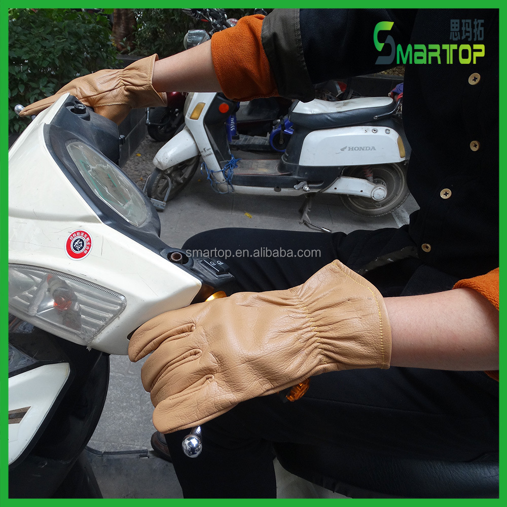 working leather gloves motorcycle gloves cow grain