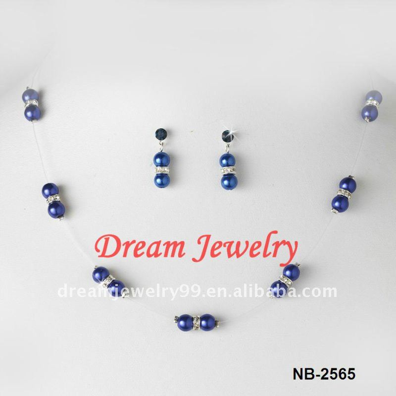 new pearl jewelry set hyderabad blue pearl sets silver jewellery