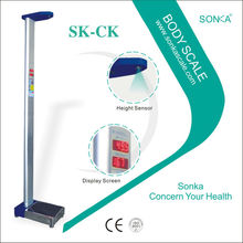 SK- CK China Wholesale Measuring Height Weight BMI Medical Device Weighing Electronic Scale