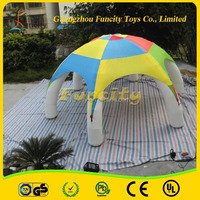 Outdoor exhibition tent inflatable,6 legs advertising inflatable exhibition tent for sale