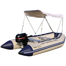 New Cheap military Inflatable Boat Rigid Inflatable Boat with Tent and Electric Motor