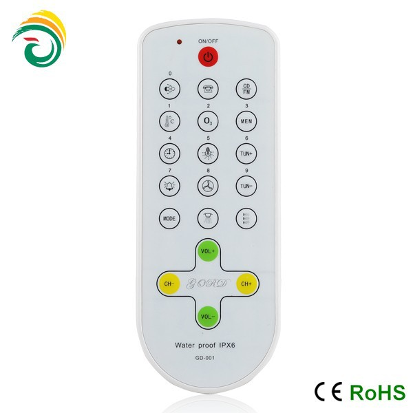 dvd remote control replacement 2014 hot sales with silicone shell