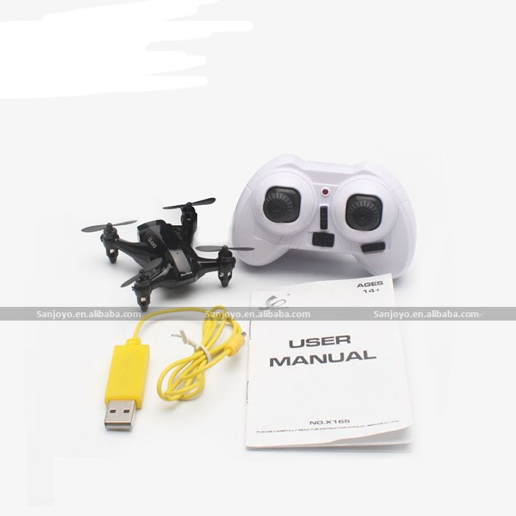 XINLIN X165 MINI Drone 2.4GHz 6-axis Gyro 3D Rolling RC Quadcopter VS Drone CX-10D SJY-X165